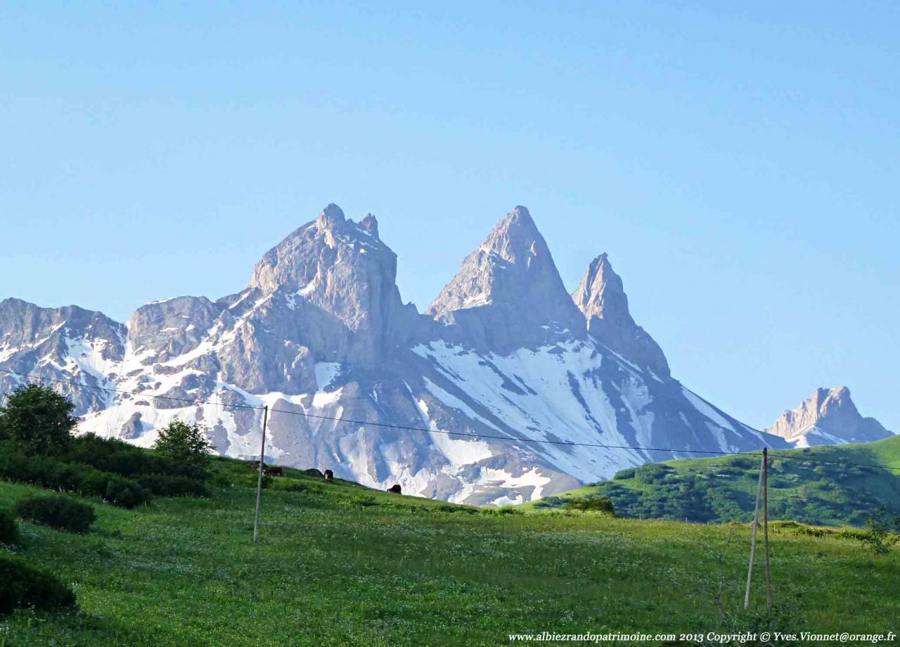 L'alpage des Aiguilles d'Arves