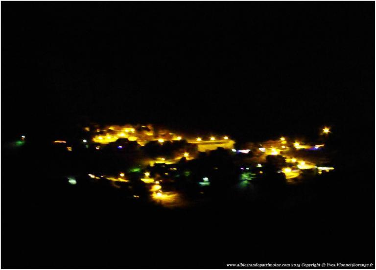 Rando nocturne aux flambeaux