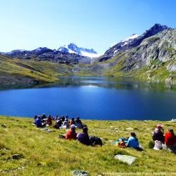 Lac blanc et glacier de l'Etendard