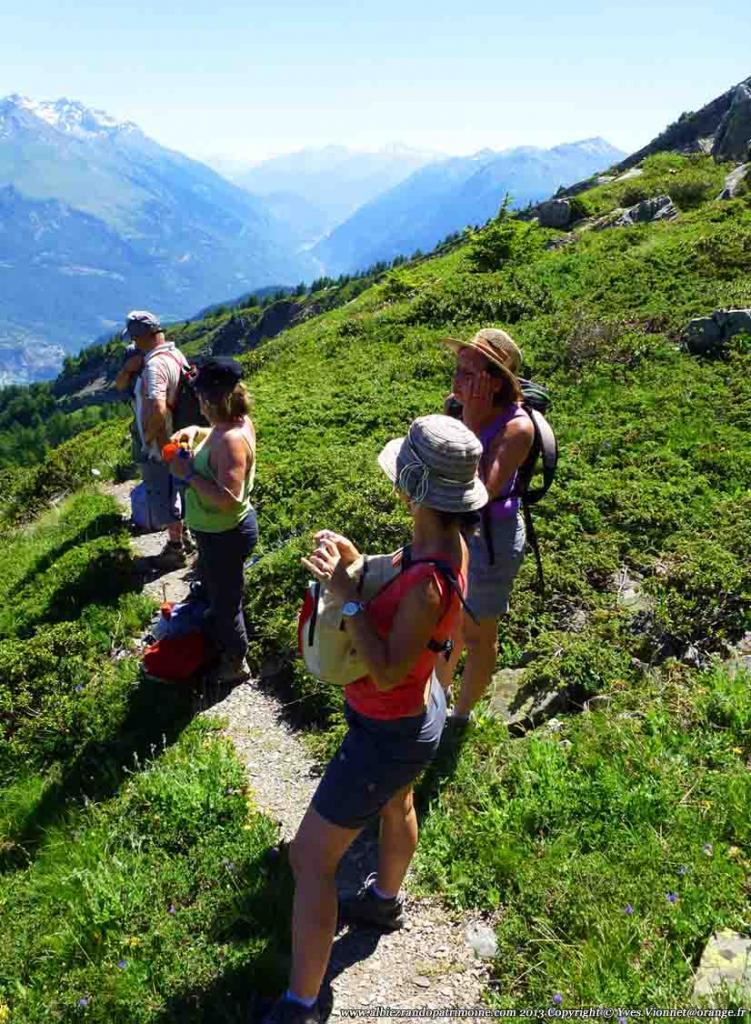 Rando journée, Tête d'Albiez 2470 m, l'arête Albiez / Montricher