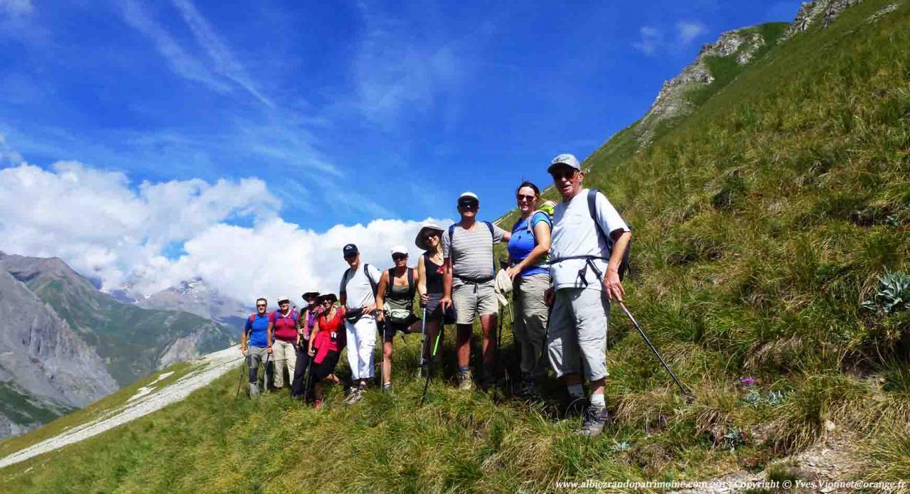 Rando journée, Col des Rochilles 2496 m et des Cerces 2574 m