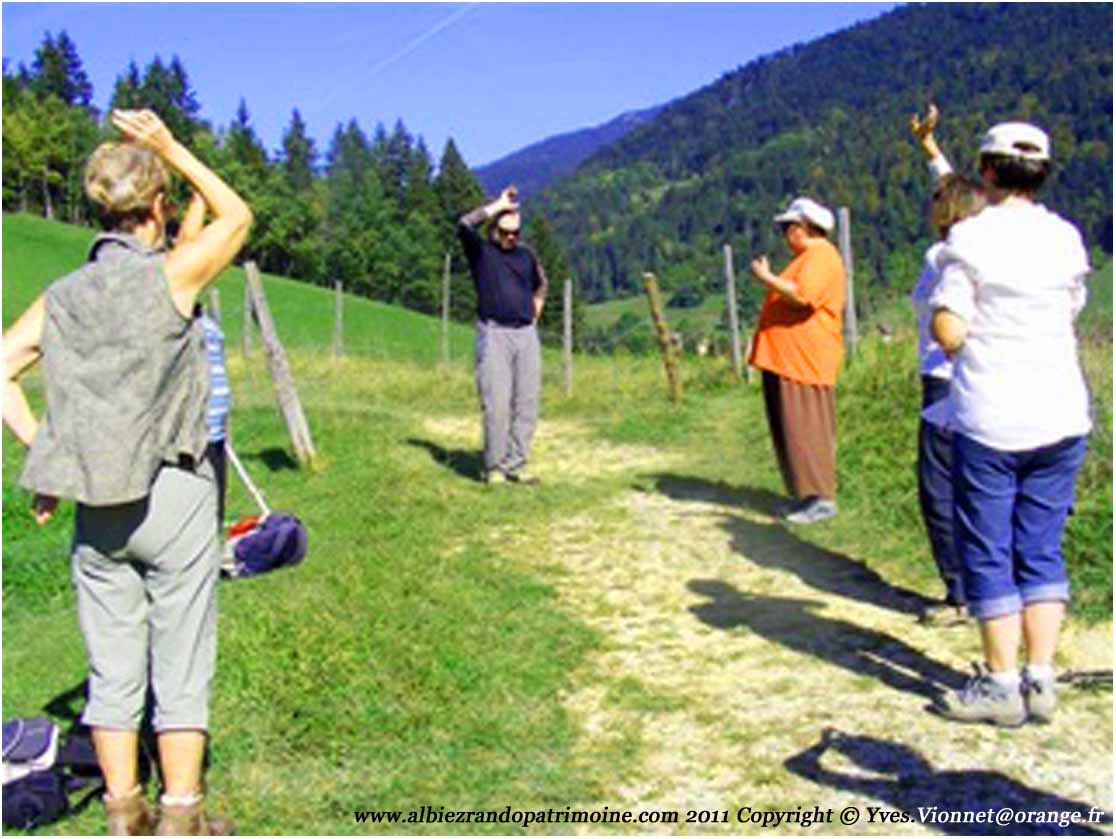 Qi gong et randonnée