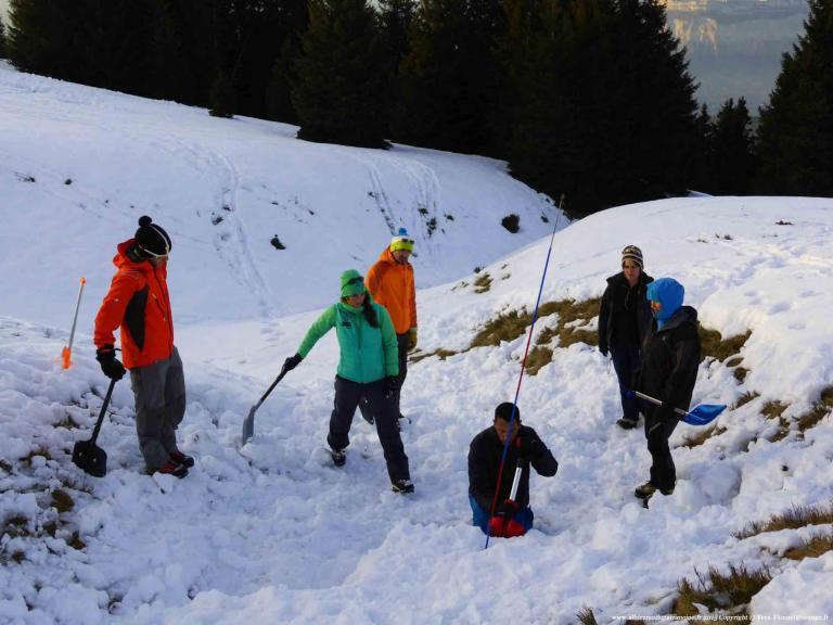 Sauvetage Avalanche - Niveau 2