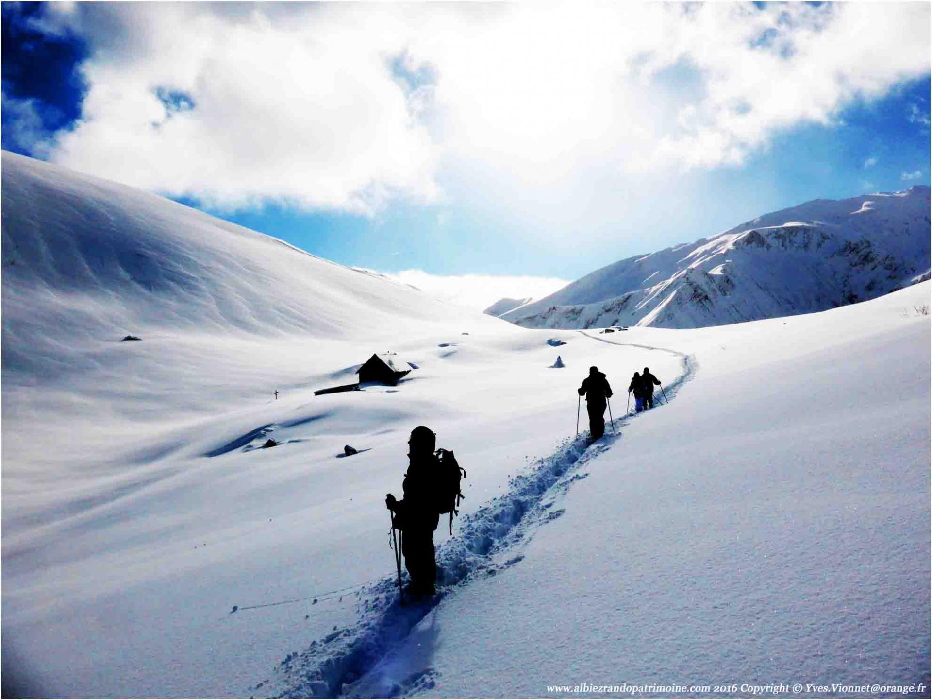 """""""Panorama des Aiguilles d'Arves"""", une très belles randonnées en raquettes d'un journée"""