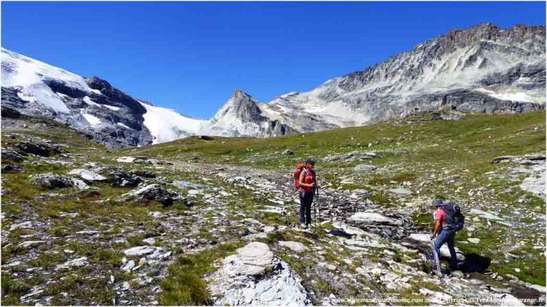 5 jours Tour d'entre deux Eaux - Vanoise